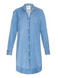 Frank And Eileen Mary Cotton Denim Shirtdress