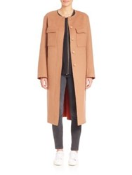 Elizabeth And James Miller Cocoon Coat Fawn