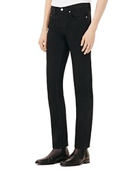 Sandro Paint Shadow Straight Fit Jeans In Noir