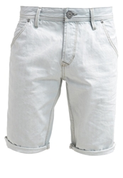 Tom Tailor Denim Denim Shorts Heavy Bleached Blue Denim Bleached Denim