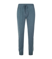 Derek Rose Finley Cashmere Lounge Trousers Male Green