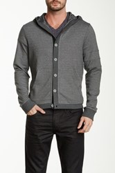 Joe's Jeans Carter Hooded Jacket Gray