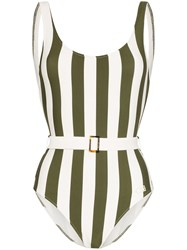 Solid And Striped Anne Marie Belted Swimsuit 60