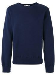 Stella Mccartney Embroidered Bird Sweatshirt Blue