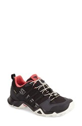 Women's Adidas 'Terrex Swift R Gtx' Waterproof Hiking Shoe Dark Grey Black