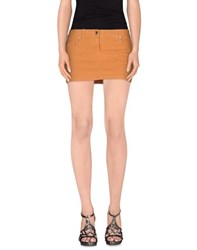 Liu Jo Denim Denim Skirts Women Brown