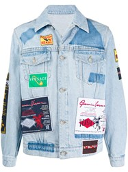 Versace Rodeo Patches Denim Jacket 60