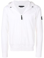 Canada Goose Zipped Sweater White