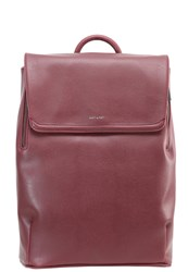 Matt And Nat Fabi Rucksack Cerise Dark Red