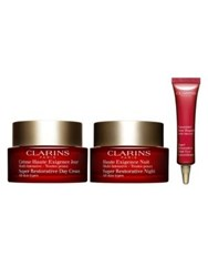 Clarins Youth Activating Routine S18 Super Restorative Day And Night No Color