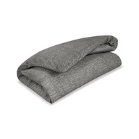Calvin Klein Acacia Grey Textured Duvet Cover Super King