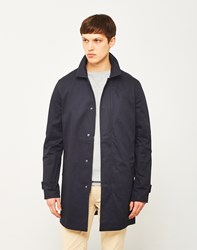 Only And Sons Neur Trench Coat Navy