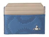 Vivienne Westwood Squiggle Card Holder Blue Credit Card Wallet