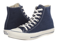 Converse Chuck Taylor All Star Sparkle Lurex Hi Navy Women's Shoes