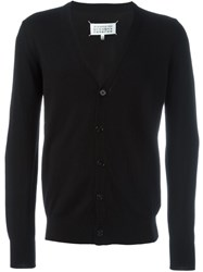 Maison Martin Margiela Maison Margiela Elbow Patch Cardigan Black
