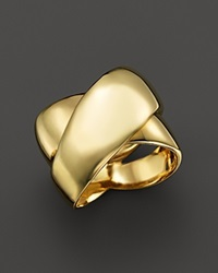 Roberto Coin 18K Yellow Gold Crossover Ring