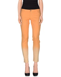 Guess Casual Pants Orange
