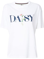 Paul Smith Ps By Daisy Printed T Shirt Women Cotton Xl White