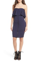 Leith Women's Strapless Body Con Dress