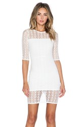 Donna Mizani Orbit Mini Dress White