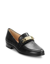 Karl Lagerfeld Cabana Leather Loafers Black