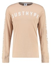 Hype Old English Long Sleeved Top Sand