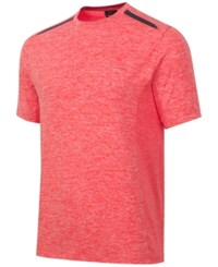 Greg Norman For Tasso Elba Men's Performance T Shirt Coral