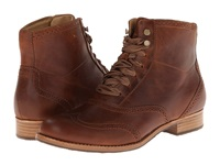 Sebago Claremont Boot Cognac Leather Women's Lace Up Boots Brown