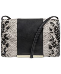 Kenneth Cole Reaction Dovetail Mini Crossbody Natural Python