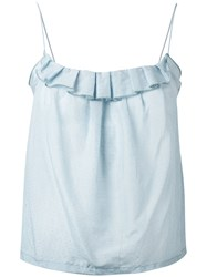 Bellerose Hombre Cami Women Silk Cotton 0 Blue