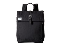Toms Trekker Waxed Canvas Backpack Black Backpack Bags