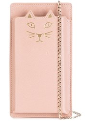 Charlotte Olympia 'Feline' Iphone 6 Case Pink And Purple