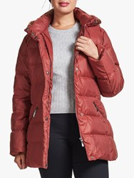 Four Seasons Puffer Jacket Berry