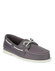 Sperry Mesh Boat Shoes Grey