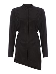 Label Lab Emerson Black Knotted Shirt Black