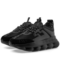 Versace Chain Reaction Sneaker Black