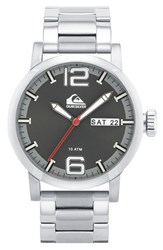 Men's Quiksilver 'The Sentinel' Bracelet Watch 44Mm