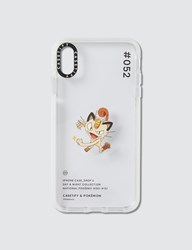 Casetify Meowth 052 Pokedex Day Iphone Xs Max Case Clear