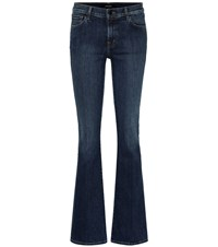 J Brand Sallie High Rise Flared Jeans Blue
