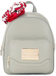 Love Moschino Zipped Backpack Grey