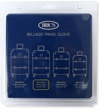 Brics Bellagio Travel Sleeve 76Cm Transparent