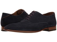 Paul Smith Ps Starling Plain Toe Oxford Oceano Men's Plain Toe Shoes Navy