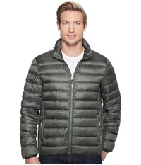 Tumi Patrol Packable Travel Puffer Jacket Moss Men's Coat Green
