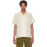 Wacko Maria Off White Guilty Parties 50S Shirt Ivory