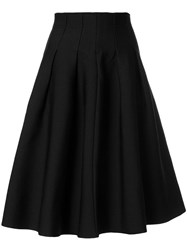 Le Ciel Bleu Flared Skirt Black
