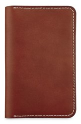 Red Wing Shoes Leather Passport Wallet Brown Oro Russet