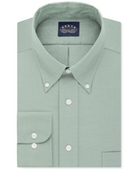 Eagle Men's Classic Fit Stretch Collar Non Iron Solid Dress Shirt Moss