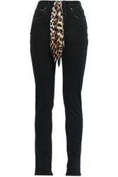 Rockins High Rise Skinny Jeans Black