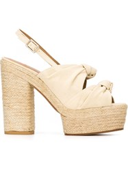 Castaner Castaner 'Abbey' Sandals Nude And Neutrals