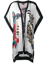 Missoni Printed Kaftan Women Silk S